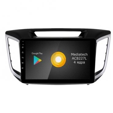 Автомагнитола ROXIMO S10 RS-2011 Hyundai Solaris 2017 (Android 8.1)