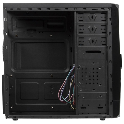 Компьютерный корпус ACCORD P-25B w/o PSU Black