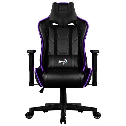Компьютерное кресло AeroCool AC220 AIR RGB игровое