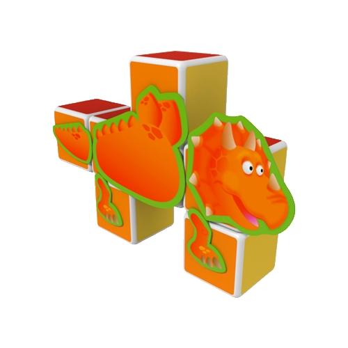 Магнитный конструктор GEOMAG Magicube 141-7 Динозавры