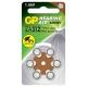 Батарейка GP Hearing Aid ZA312
