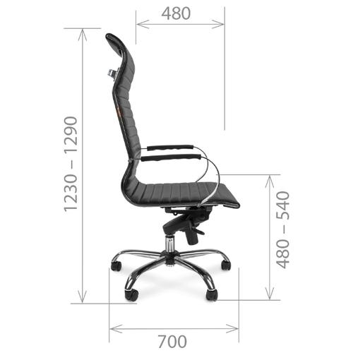 Компьютерное кресло Chairman 710 для руководителя