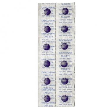 Curaprox Таблетки для индикации зубного налета