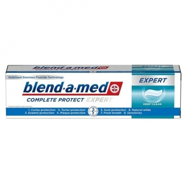 Зубная паста Blend-a-med Complete Protect Expert Deep Clean, mint