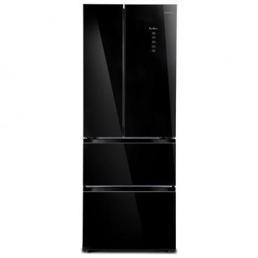 Холодильник Tesler RFD-360I BLACK GLASS
