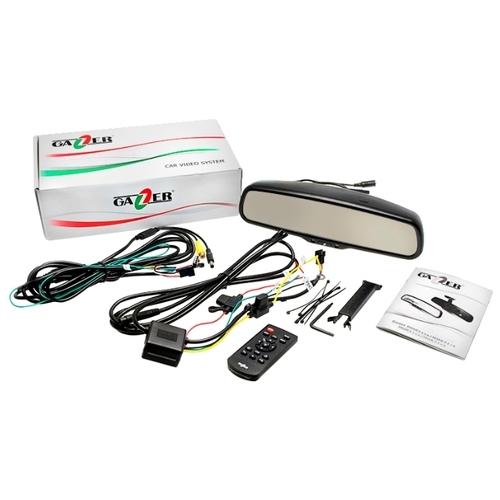 Видеорегистратор GAZER MUR5000, GPS