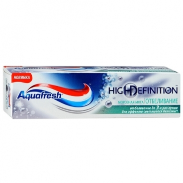 Зубная паста Aquafresh High Definition Морозная мята