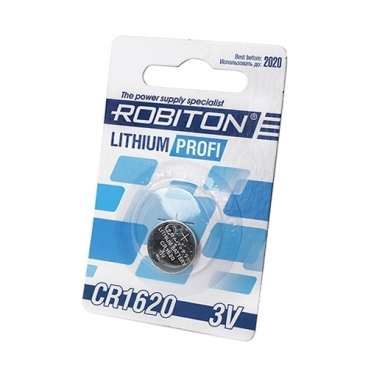 Батарейка ROBITON Lithium Profi CR1620