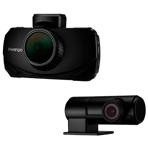 Видеорегистратор Prestigio RoadRunner 600GPSDL, 2 камеры, GPS