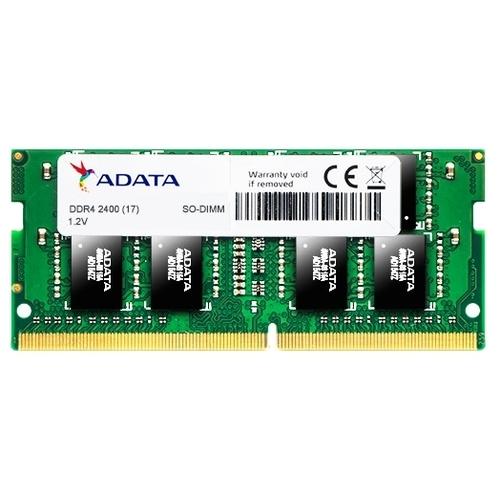 Оперативная память 4 ГБ 1 шт. ADATA DDR4 2400 SO-DIMM 4Gb
