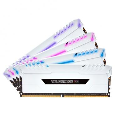 Оперативная память 8 ГБ 4 шт. Corsair CMR32GX4M4C3200C16W