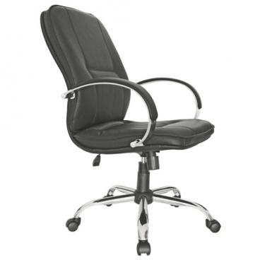 Компьютерное кресло Мирэй Групп Филадельфия хром короткий для руководителя