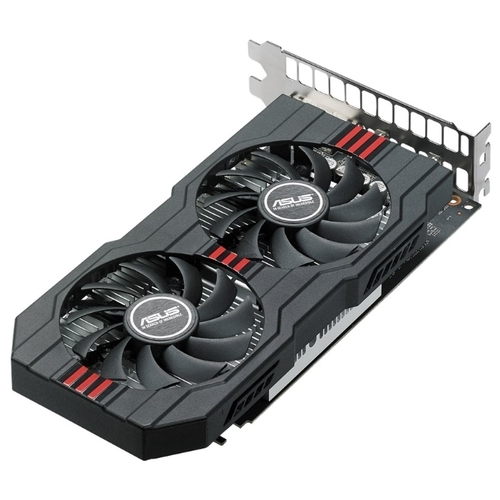 Видеокарта ASUS Radeon RX 560 1149MHz PCI-E 3.0 4096MB 6000MHz 128 bit DVI HDMI HDCP EVO OC
