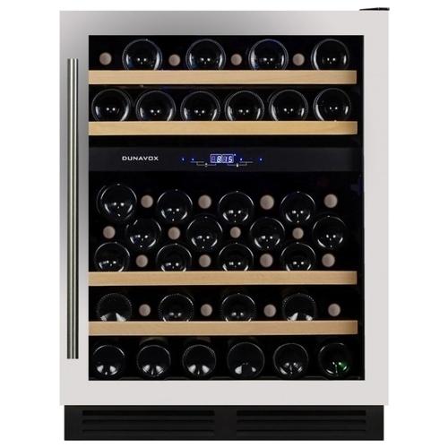Встраиваемый винный шкаф Dunavox DX-53.130SDSK/DP