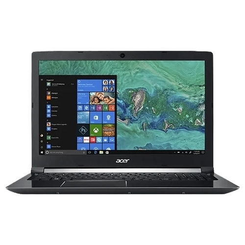 "Ноутбук Acer ASPIRE 7 (A715-72G-77C6) (Intel Core i7 8750H 2200 MHz/15.6""/1920x1080/8GB/1000GB HDD/DVD нет/NVIDIA GeForce GTX 1050 Ti/Wi-Fi/Bluetooth/Windows 10 Home)"