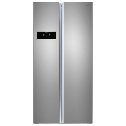 Холодильник Ginzzu NFK-465 Steel