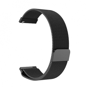 GSMIN Ремешок металлический Milanese Loop для Amazfit Bip