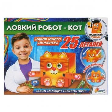 Набор для исследований Играем вместе Опыты. Ловкий робот - Кот