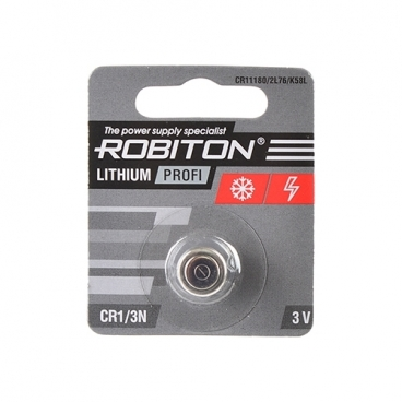 Батарейка ROBITON Lithium Profi CR1/3N