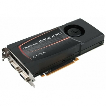 Видеокарта EVGA GeForce GTX 470 607Mhz PCI-E 2.0 1280Mb 3348Mhz 320 bit 2xDVI Mini-HDMI HDCP