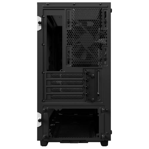 Компьютерный корпус NZXT H400 White/black
