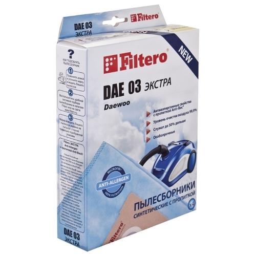 Filtero Мешки-пылесборники DAE 03 Экстра