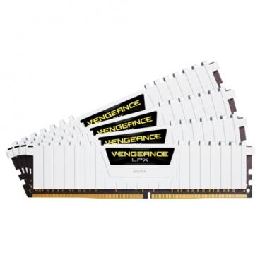 Оперативная память 8 ГБ 4 шт. Corsair CMK32GX4M4B3200C16W