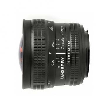 "Объектив Lensbaby Circular with Fisheye Fujifilm X"""