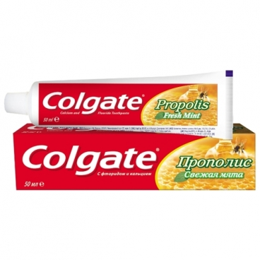 Зубная паста Colgate Прополис Свежая мята