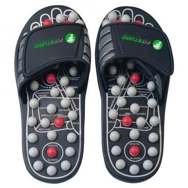 Массажер FitStudio Рефлекторные тапочки Massage Slipper (42-43, L)