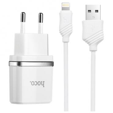 Сетевая зарядка Hoco C11+ Apple