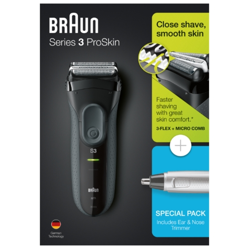 Электробритва Braun 3000s Series 3 + EN10
