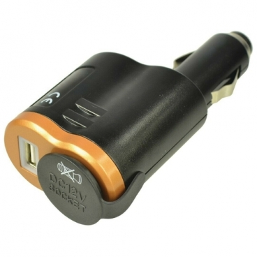 Автомобильная зарядка Duracell DRDCUSB1