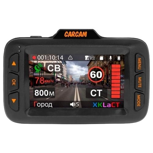 Видеорегистратор с радар-детектором CARCAM Hybrid