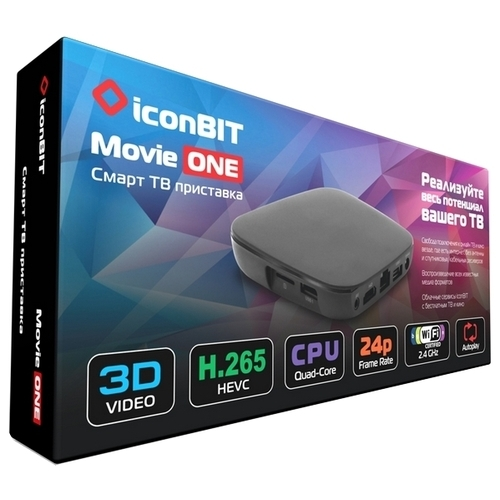Медиаплеер iconBIT Movie ONE