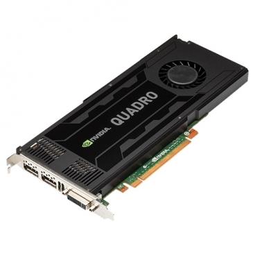 Видеокарта PNY Quadro K4000 PCI-E 2.0 3072Mb 192 bit DVI
