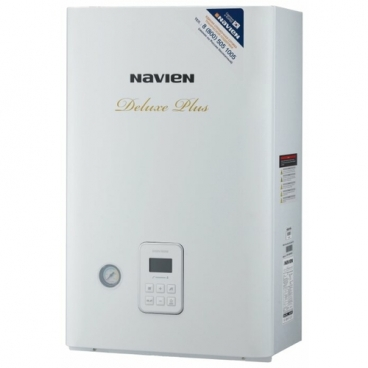 Газовый котел Navien DELUXE PLUS 35K 35 кВт двухконтурный