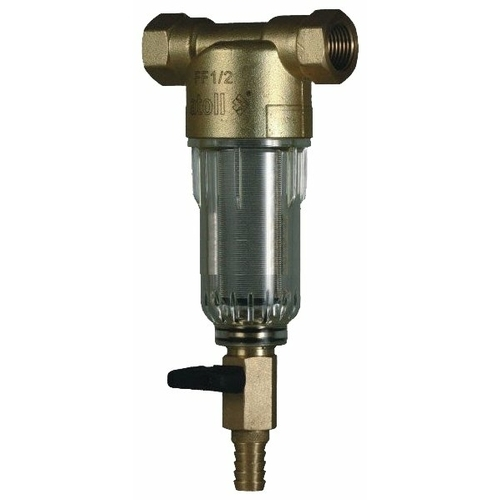 Фильтр механической очистки Atoll AFF-1/2C муфтовый (ВР/ВР), со сливом
