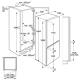 Встраиваемый холодильник smeg C7194N2P