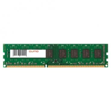 Оперативная память 4 ГБ 1 шт. Qumo QUM3U-4G1600С11L