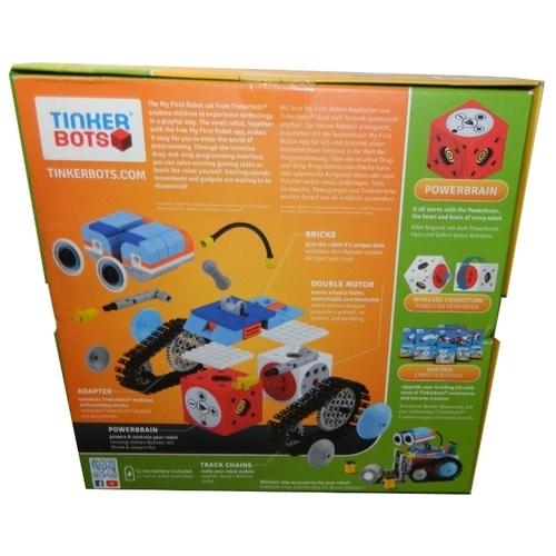 Электромеханический конструктор Tinker Bots Мой первый робот