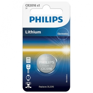 Батарейка Philips Lithium CR2016