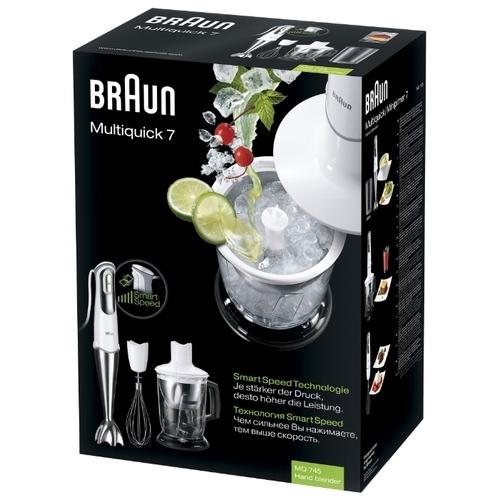 Погружной блендер Braun MQ 745 Cocktail