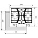 Варочная панель LEX GVS 643 IX