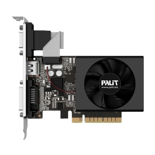 Видеокарта Palit GeForce GT 730 902Mhz PCI-E 2.0 1024Mb 1800Mhz 64 bit DVI HDMI HDCP