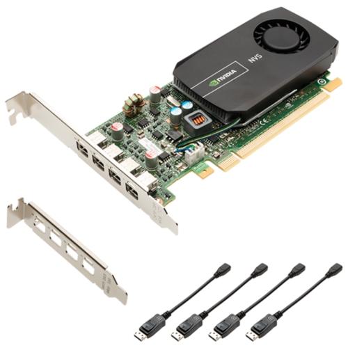 Видеокарта PNY Quadro NVS 510 PCI-E 3.0 2048MB 128 bit HDCP (VCNVS510DP-PB)