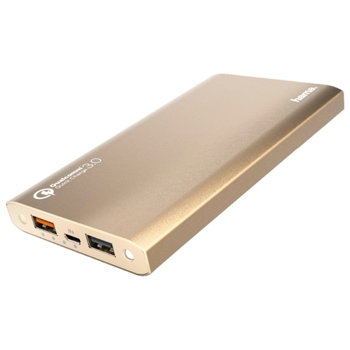Аккумулятор HAMA Premium Alu 12000 mAh QC 3.0