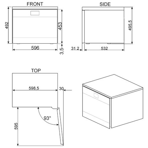 Винный шкаф smeg CVF318XS