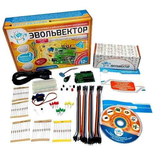 Электронный конструктор Эвольвектор Программируемые контроллеры ЭВ-210 Стартовый набор