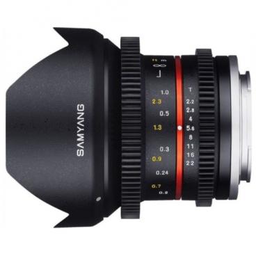 Объектив Samyang 12mm T2.2 NCS CS VDSLR Micro 4/3